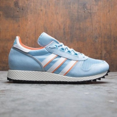 アディダス メンズ シューズ  Adidas Men Silverbirch SPZL (blue / clear blue / footwear white / orange)