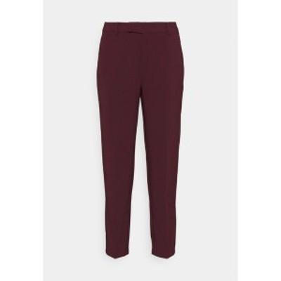 アンナフィールド レディース カジュアルパンツ ボトムス Trousers - dark red dark red