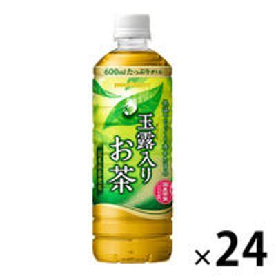 ポッカサッポロポッカサッポロフード&ビバレッジ 玉露入りお茶 600ml 1箱(24本入)