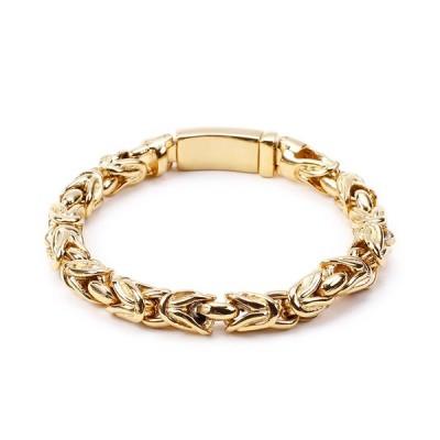 バングル[ラッピング対応] PW 精良SUS316L製 銀金灰の3色 薔薇のデザイン ローゼ ROSE bracelet /  長さ200mm 幅13mm 条件付送料無料61997