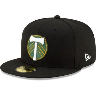 ニューエラ メンズ 帽子 アクセサリー Portland Timbers New Era Primary Logo 59FIFTY Fitted Hat