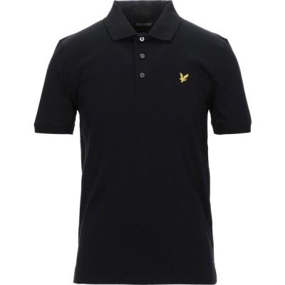 ライル アンド スコット LYLE & SCOTT メンズ ポロシャツ トップス polo shirt Black