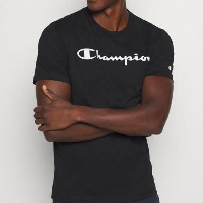 チャンピオン メンズ ファッション LEGACY CREWNECK - Print T-shirt - black