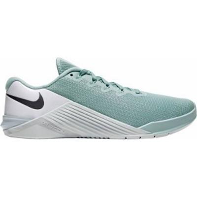 ナイキ レディース スニーカー シューズ Nike Women's Metcon 5 Training Shoes Ocean Cube/Mtlc Cool Grey