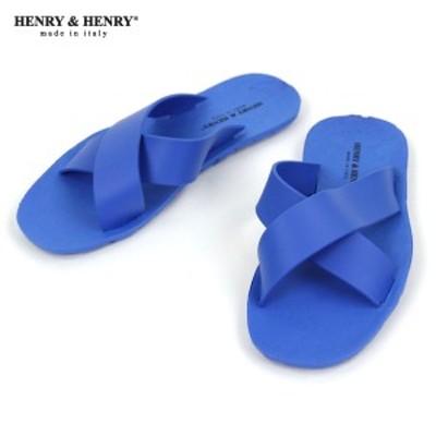 ヘンリーアンドヘンリー HENRY&HENRY 正規販売店 サンダル クロス CROSS SANDAL AZURO 50