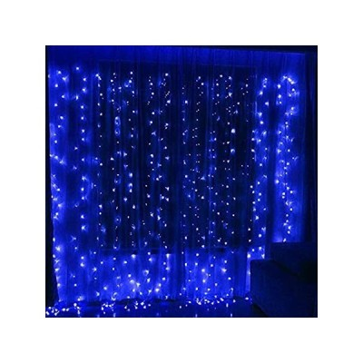 Twinkle Star 300 LED Window Curtain String Light for Christmas Wedding Part