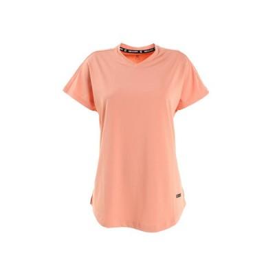 ジローム(GIRAUDM) Tシャツ レディース 半袖 ドライプラス シャインブロック 864GM1HD6837 PNK (レディース)