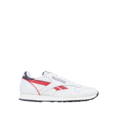 リーボック REEBOK スニーカー&テニスシューズ(ローカット) ホワイト 10 革 スニーカー&テニスシューズ(ローカット)