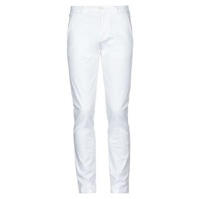 NO LAB パンツ ホワイト 29 コットン 97% / ポリウレタン 3% パンツ