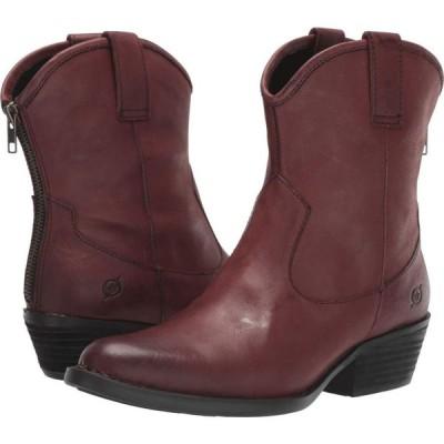 ボーン Born レディース ブーツ シューズ・靴 Wynd Burgundy Full Grain Leather