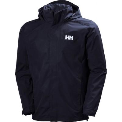 ヘリーハンセン HELLY HANSEN メンズ ジャケット フード ウィンドブレーカー アウター Dubliner Water & Wind Proof Hooded Jacket Navy