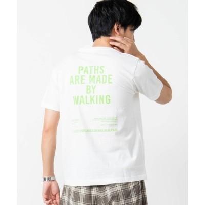 tシャツ Tシャツ WEGO/バックプリントロゴTシャツ