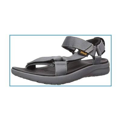新品Teva Men's M Sanborn Universal Sandal, Grey, 12 M US【並行輸入品】