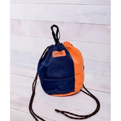 MaG. / 【UNIVERSAL OVERALL】 ナイロンツイルコンビ 巾着ポーチ(11Lサイズ) WOMEN バッグ > ハンドバッグ