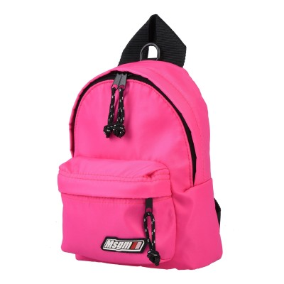 エムエスジーエム MSGM バックパック&ヒップバッグ ピンク ナイロン 100% バックパック&ヒップバッグ