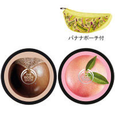 ザボディショップジャパンTHE BODY SHOP(ザボディショップ)ボディバターセット(シア&ピンクグレープフルーツ) イオンフォレスト