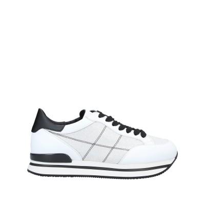ホーガン HOGAN スニーカー&テニスシューズ(ローカット) ホワイト 35 紡績繊維 / 革 スニーカー&テニスシューズ(ローカット)
