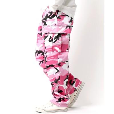 【ラザル】 ROTHCO/ロスコ CAMO BDU PANTS / カーゴパンツ メンズ ピンク M LAZAR