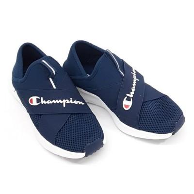 チャンピオン ビーンズフォーム スリップ3 CP ACT022CHAMPION BEANZ FOAM SLIP3レディース スリポン スニーカーネイビー ブルー