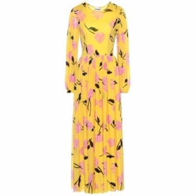 ガニー Ganni レディース ワンピース ワンピース・ドレス floral maxi dress Minion Yellow