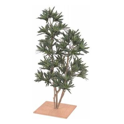 人工植物 グリーンデコ和風 仕立マキ 板付 60cm  GD-84N(21607900)(タカショー)