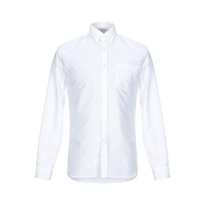 XACUS シャツ ホワイト M コットン 100% シャツ