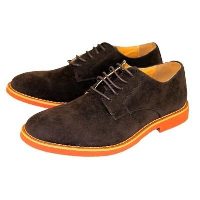 オックスフォードシューズ 17070 カジュアル メンズ ダークブラウン 25〜28cm 靴 シューズ