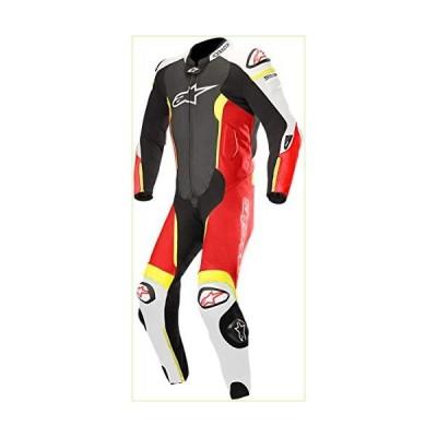 Alpinestars Men's 3150118-1236-60 Suit (Black/White/Red Yellow, Size 60)「並行輸入品」
