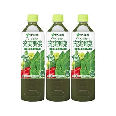 伊藤園 充実野菜 緑の野菜ミックス 930g ×3本