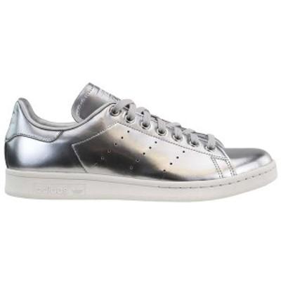 アディダス メンズ スニーカー シューズ Stan Smith Lace Up Sneakers silver met. / silver met.