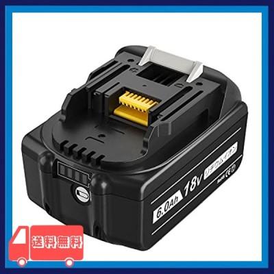 Enermall 互換 マキタ18v バッテリー マキタバッテリー マキタ18v bl1860bマキタ18v互換バッテリー 電動工具用バッテ