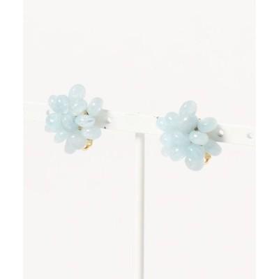 イヤリング 【Mirisa】Blossom アクアマリンのイヤリング