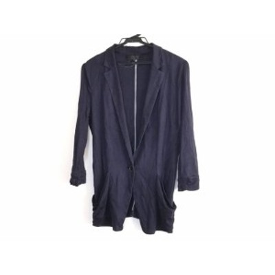 アンタイトル UNTITLED ジャケット サイズ2 M レディース ネイビー【中古】