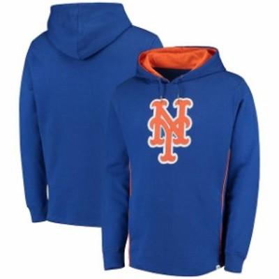 Majestic マジェスティック スポーツ用品  Majestic New York Mets Royal Lefty/Righty Pullover Hoodie
