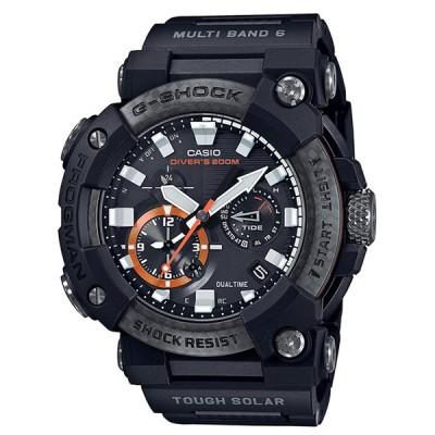 カシオ G-SHOCK(ジーショック) MASTER OF G FROGMAN ソーラー 電波 メンズ 腕時計 GWF-A1000XC-1AJF