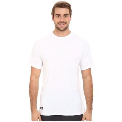 アンダーアーマー Under Armour メンズ Tシャツ トップス UA Tac Tech Tee White