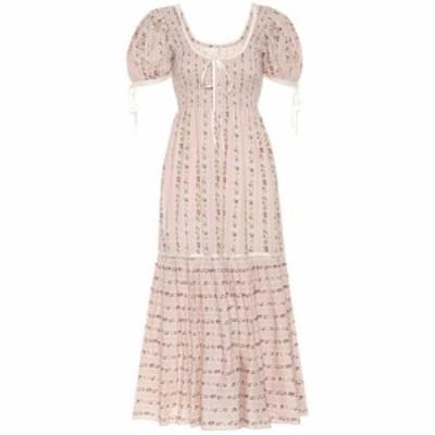 ラブシャックファンシー LoveShackFancy レディース ワンピース ワンピース・ドレス Judith cotton dress Macaroon
