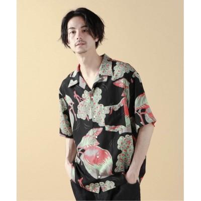 メンズ ジャーナルスタンダード レリューム 【NOMA t.d./ノーマティーディー】Summer Shirts Pretty things RE ブラック L