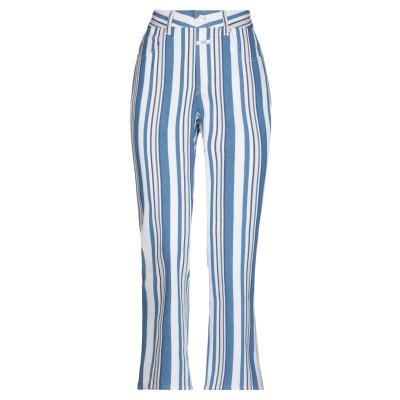 クローズド CLOSED パンツ アジュールブルー 25 コットン 97% / ポリウレタン 3% パンツ