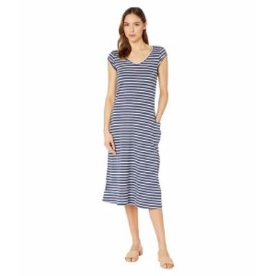ドード アンドコー レディース ワンピース トップス Samba Muse Dress True Navy Balanced Stripe