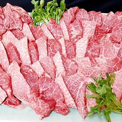 食肉の店福田屋 (長野)信州プレミアム牛焼肉セット1kg(肩肉500gモモ肉500g)