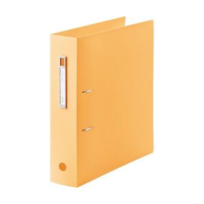 [リヒトラブ]AZファイル A4 オレンジ F-7687-4