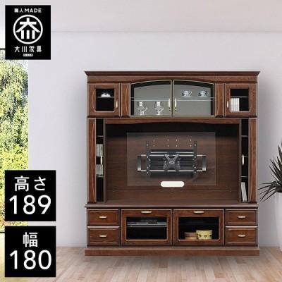 BAB テレビ台 壁面収納 テレビ台 壁掛け 幅180cm リビングボード 壁面テレビ台