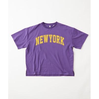 【ユニセックスで着用可能】ヘビーウェイトカレッジロゴTシャツ