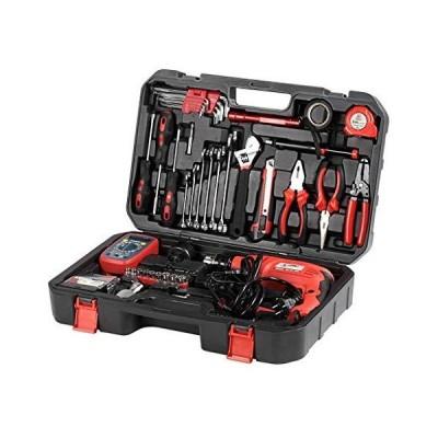 送料無料!High Specification 72 Piece Multifunction Mixed Tool Set Portable Home Toolbox for Disassembling and Assembling Screws Measur