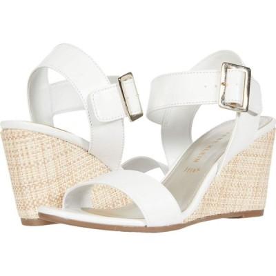 アン クライン Anne Klein レディース サンダル・ミュール シューズ・靴 Hibiscus White