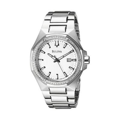 腕時計 ブローバ Bulova 96E114 メンズ アナログ ディスプレイ Japanese クォーツ シルバー 腕時計