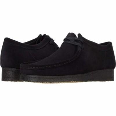クラークス Clarks メンズ シューズ・靴 Wallabee Black Suede