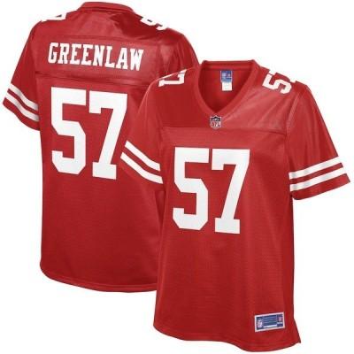 エヌエフエル プロ ライン レディース Tシャツ トップス Dre Greenlaw San Francisco 49ers NFL Pro Line Women's Player Jersey