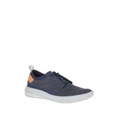 メレル メンズ スニーカー シューズ Gridway Recycled Fabric Sneaker NAVY